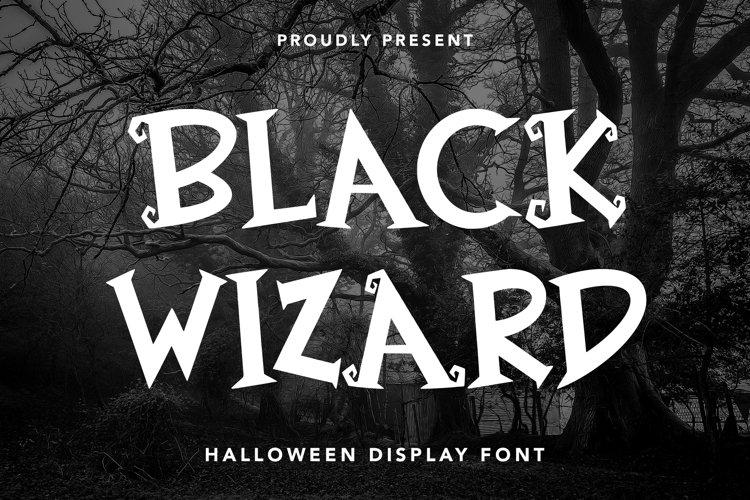 Black Wizard - Halloween Display example image 1