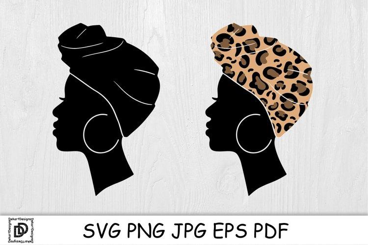 Afro Women SVG Black Woman Bundle SVG leopard Juneteenth SVG example image 1