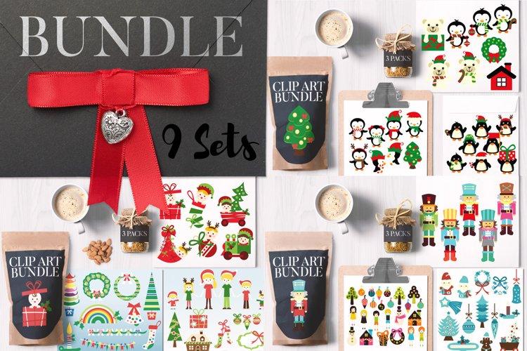 Christmas party illustration graphics - Big Bundle