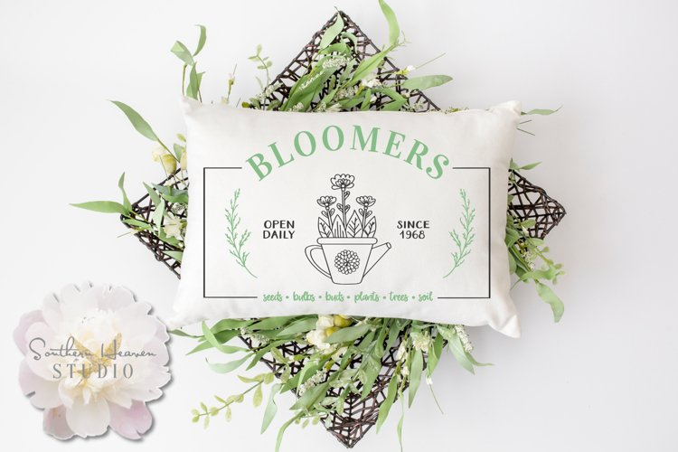 BLOOMERS - SVG, PNG, DXF and EPS