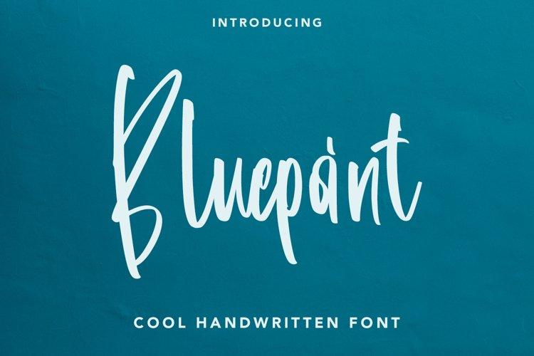 Bluepoint - Handwritten Font example image 1