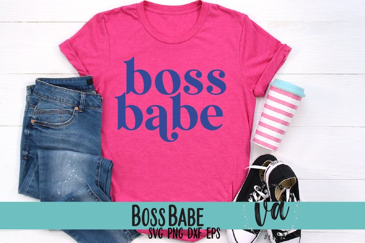 Boss Babe SVG