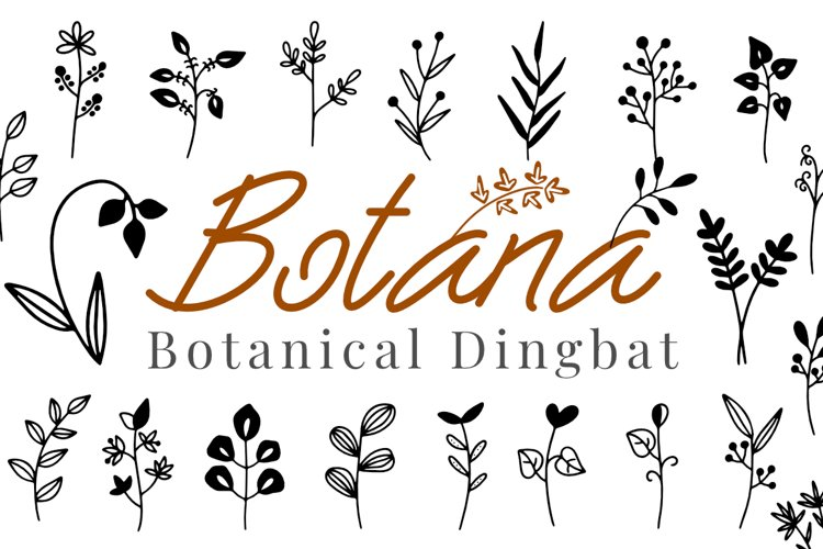 Botana - Botanical Dingbat example image 1