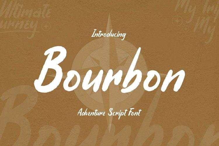 Web Font Bourbon Font example image 1