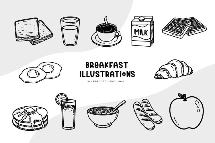 Breakfast Illustrations