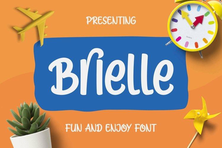 Web Font Brielle