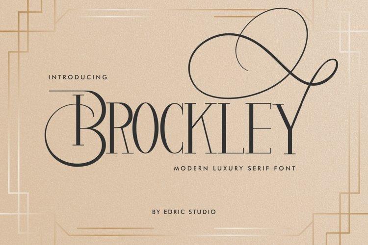 Brockley example image 1