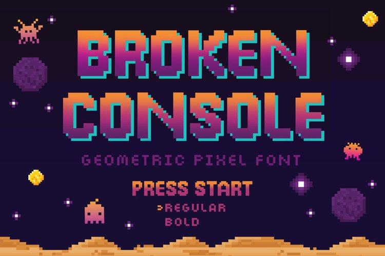Broken Console example image 1