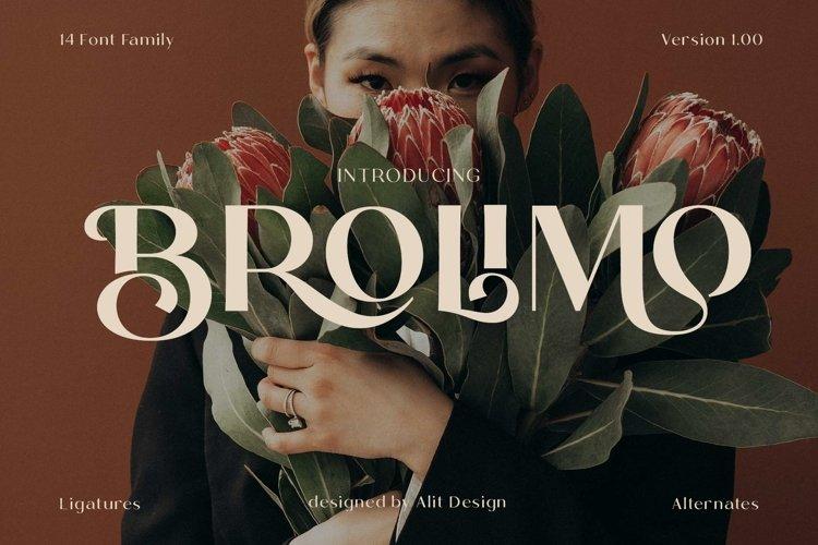 Brolimo Typeface example image 1