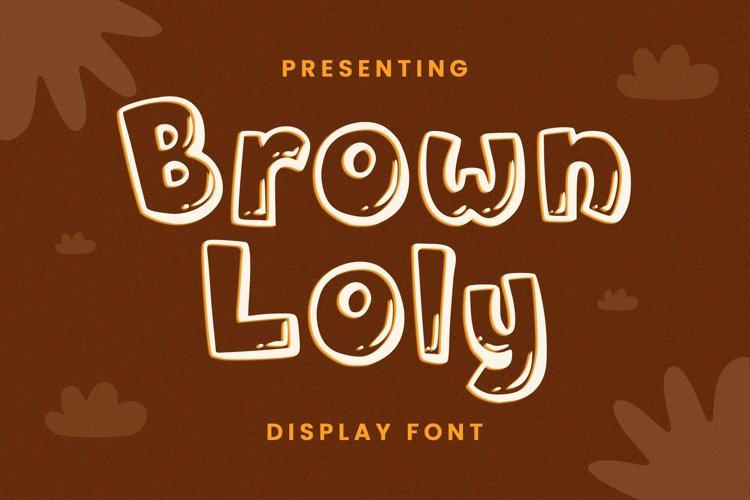 Web Font Brown Loly - Display Font example image 1