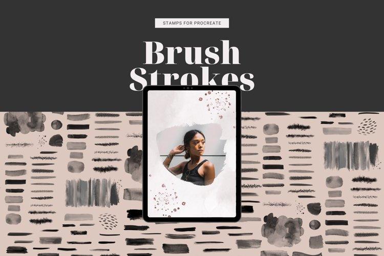 NEW: 70 Brush Strokes for Procreate, Procreate Stamps Brush