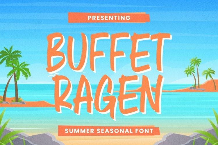 Web Font Buffet Ragen Font example image 1