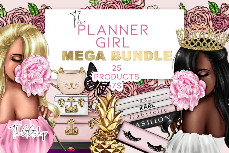 Planner Girl Boss Fashion Bundle Spring Edition 2021