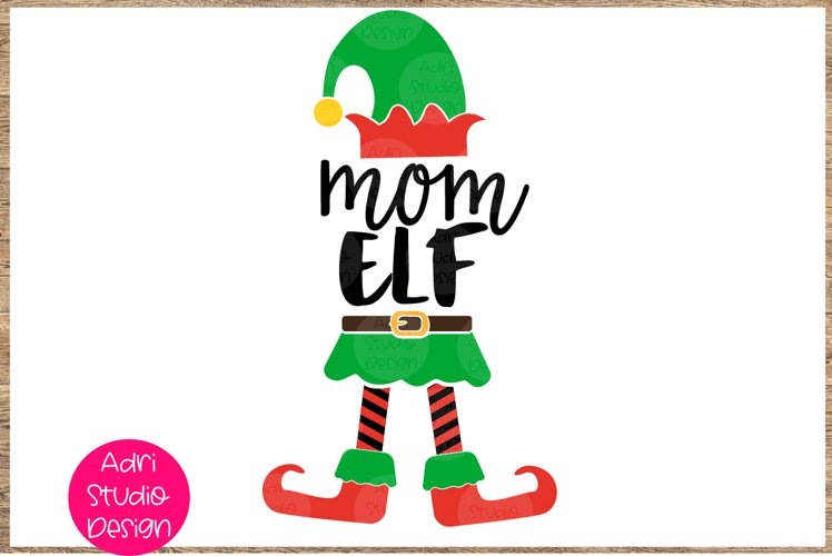 Mom elf SVG Christmas SVG Christmas, 51P example image 1