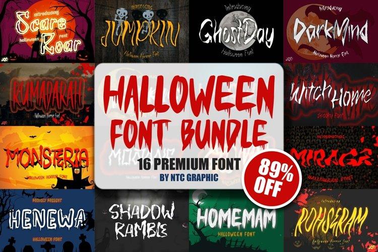 Halloween Font Bundle SALE!! example image 1