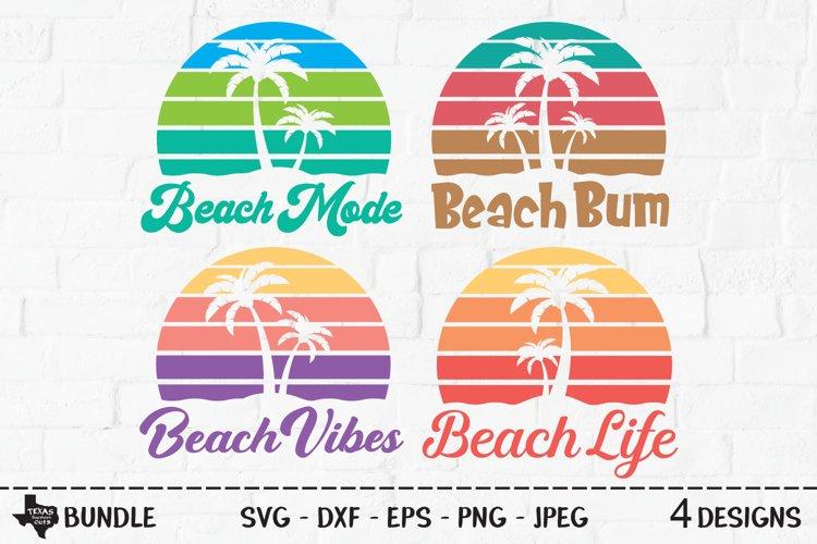 Beach Bundle SVG, Cut Files, Summer Vacation Shirt Designs