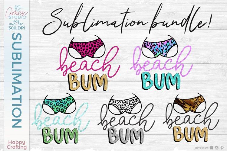 Beach Bum Sublimation Bundle - Summer Sublimation