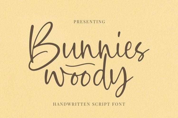 Web Font Bunnies Woody - Script Font example image 1