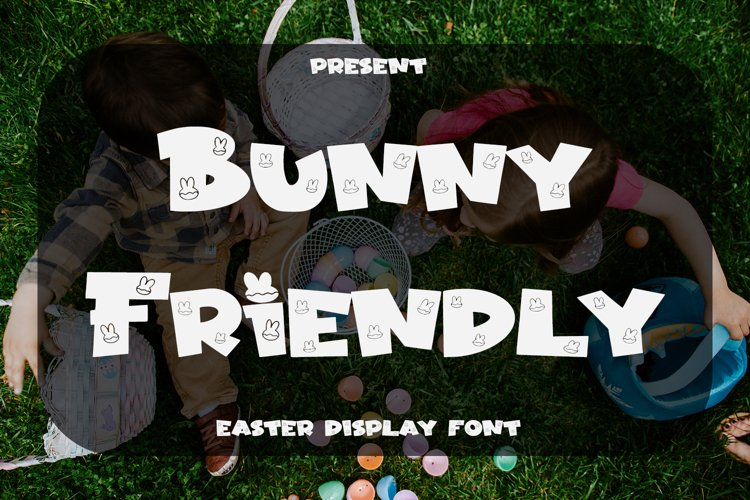 Bunny Friendly - Easter Display Font example image 1