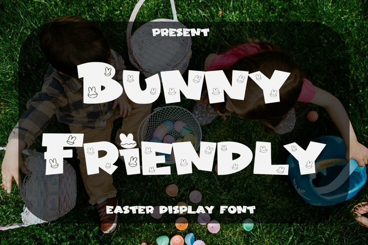 Web Font Bunny Friendly - Easter Display Font