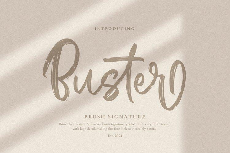 Buster Brush Signature example image 1