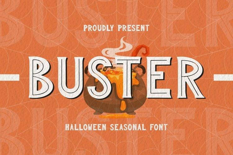Web Font BUSTER Font example image 1