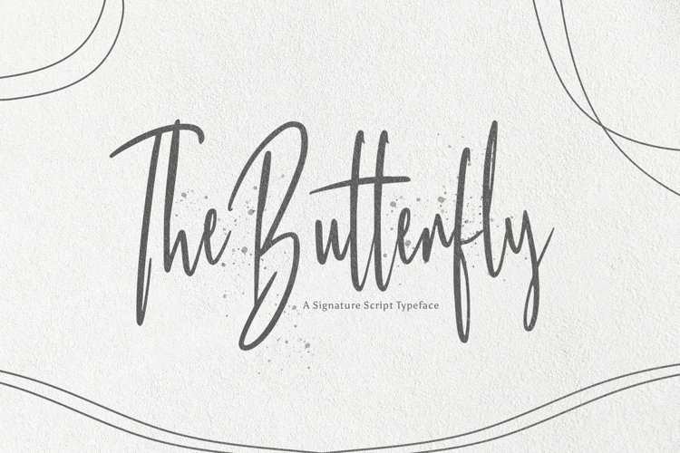 Web Font Butterfly example image 1