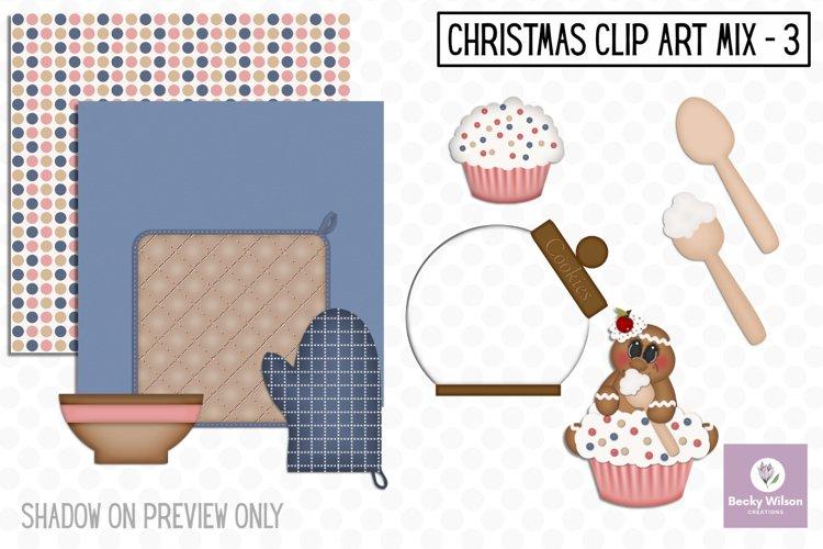 Christmas Clip Art Mix Set 3 example image 1