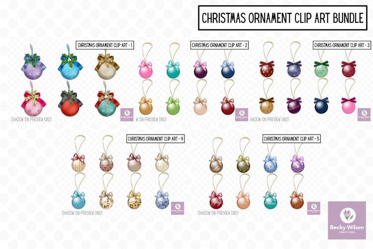 Christmas Hanging Ornament Bundle example image 1