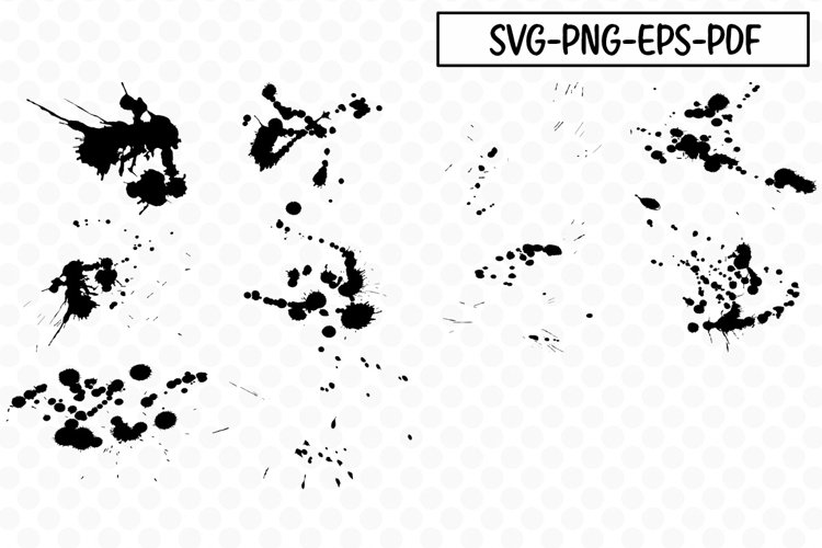 Messy Splats - SVG Bundle