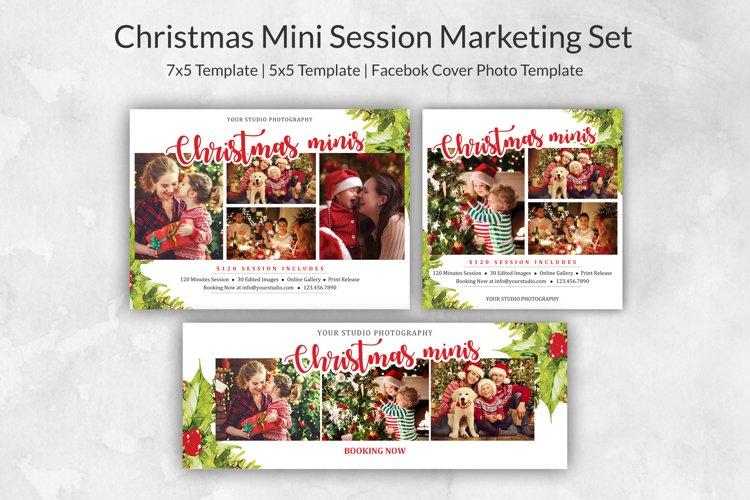 Christmas Mini Session Marketing Set