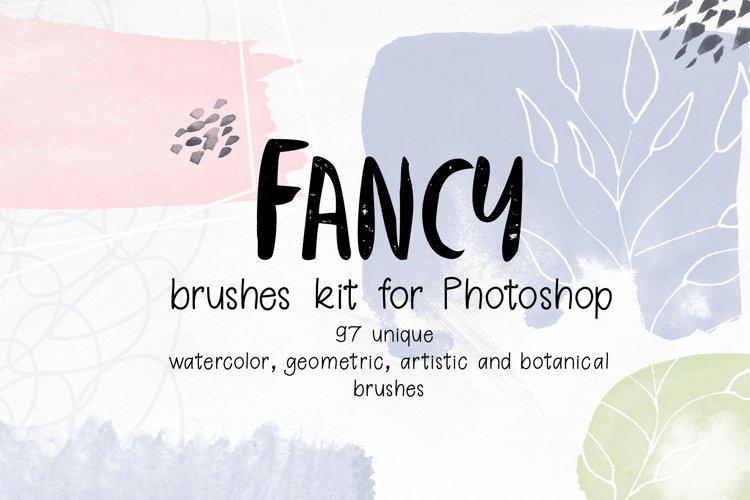 Fancy brushes for PS