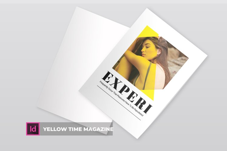 Yellow Time | Magazine example image 1