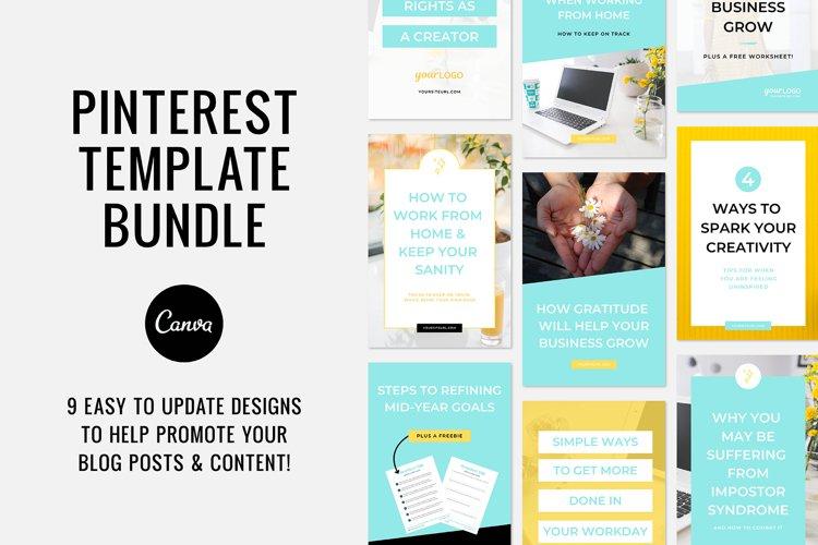 Pinterest / Blog Post Templates / Canva