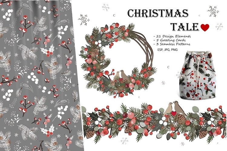 Christmas Tale. Vector Collection