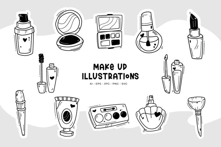 Make Up Illustrations