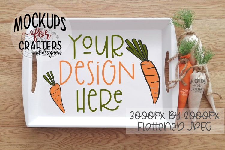 Plastic Tray Mock-Up - Easter, Spring, Kitchen example image 1
