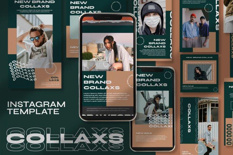Collaxs Instagram Template example image 1