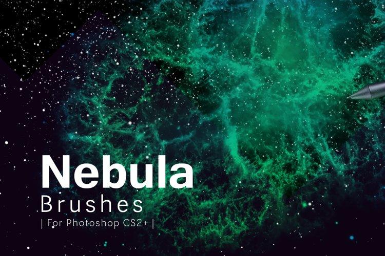 Nebula Photoshop Brushes example image 1