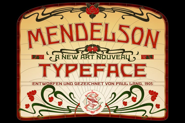 Mendelson Typeface example image 1