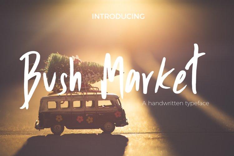 Bush Market Script Font example image 1