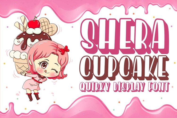 Quirky Font - Shera Cupcake example image 1