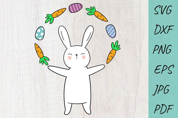 Easter SVG Cut files, Easter Bunny Svg, Rabbit SVG, Egg