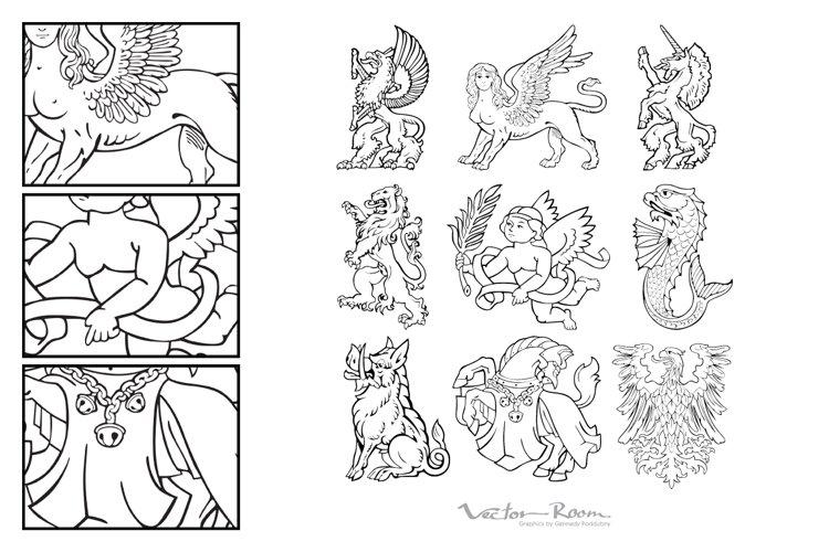 Heraldic Monsters Vol. VIII example image 1