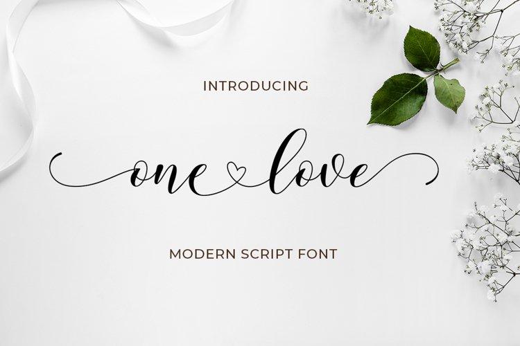 One Love script plus extras example image 1