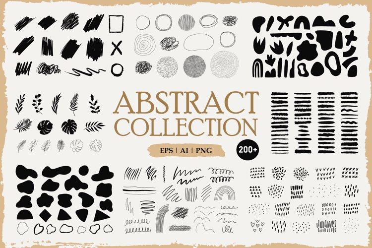 Huge Abstract Collection