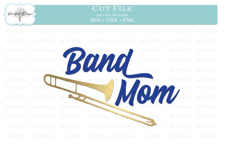 Band Mom with Trombone example image 1