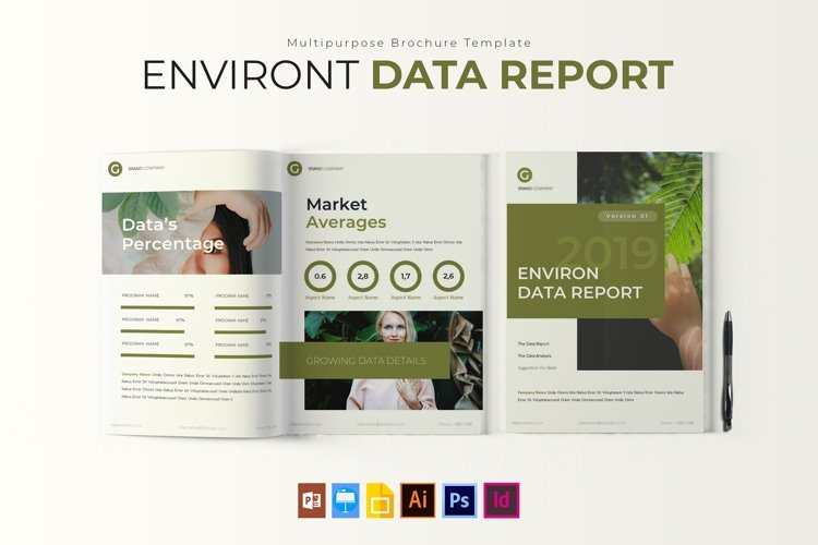 Environt Data | Report Template example image 1