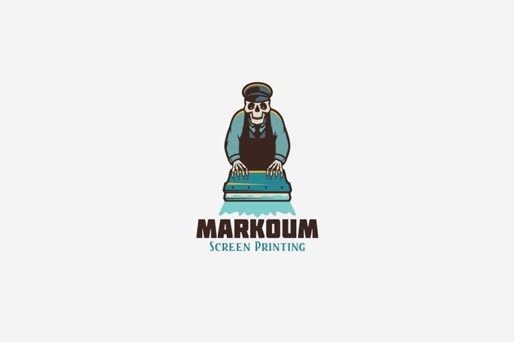 Markoum Logo Template