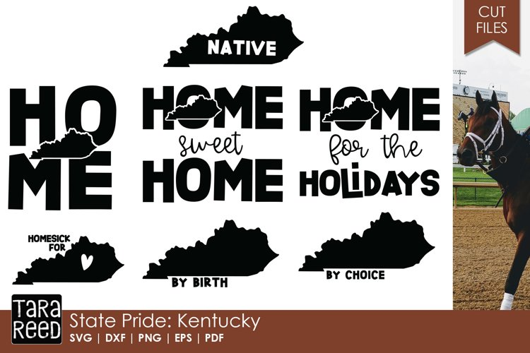 State of Kentucky - SVG and Cut Files for Crafters example image 1